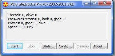Угон ICQ уинов с помощью IPDbrute 2.0 Pro.